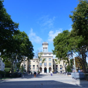 cadre dans la ville de montreuil